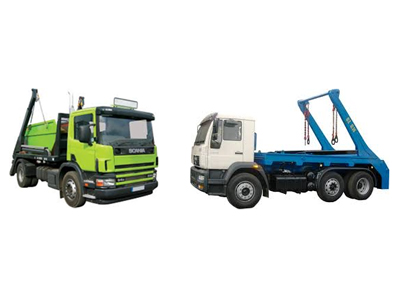 Single and double skip loaders for skip / container (non-domestic waste) transportation.
