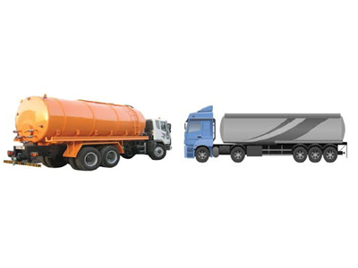 Tankers and trailers for sewage, oil, chemical waste and rain water removal and transportation.